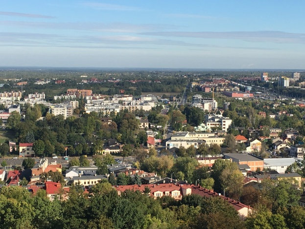 Rooftop View of Czestochowa